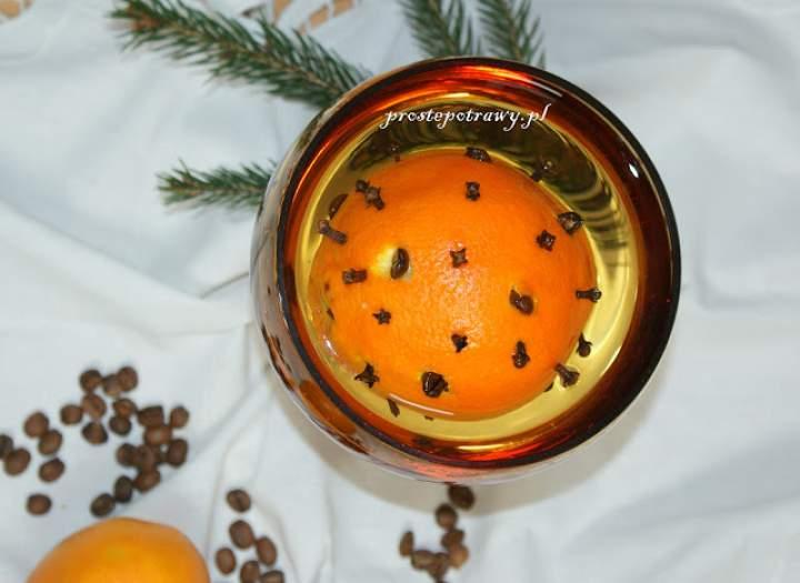 Nalewka pomarańczowa na Boże Narodzenie lub Karnawał