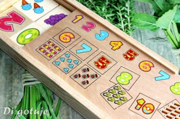 Dopasuj Cyfry, czyli drewniana gra edukacyjna pomagająca w nauce liczenia – recenzja