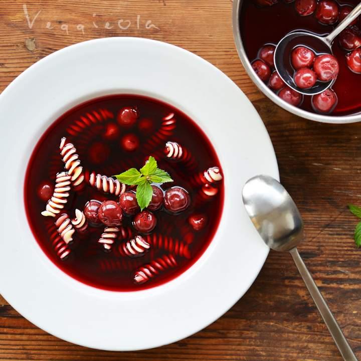Zupa wiśniowa na wigilijny wieczór