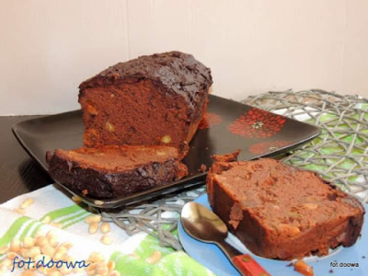 Mega czekoladowe ciasto z fasoli
