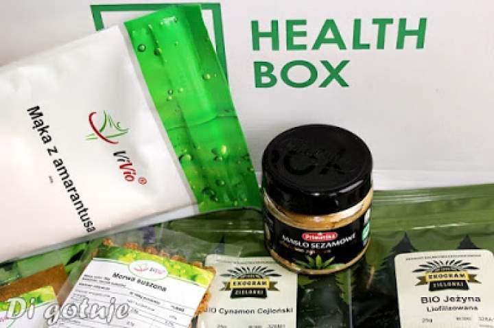 Mój grudniowy Health Box + propozycje przepisów z wykorzystaniem produktów