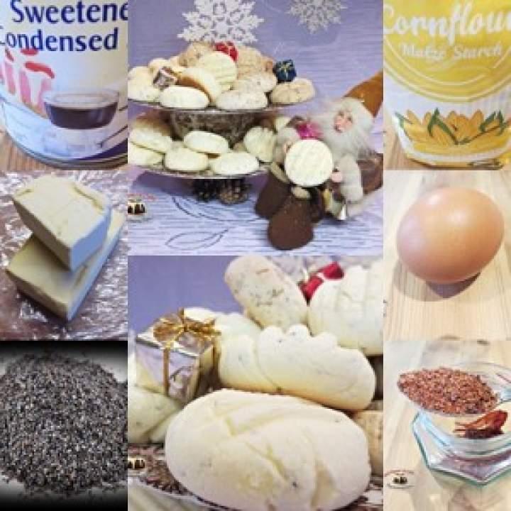 Bezglutenowe ciasteczka skondensowane