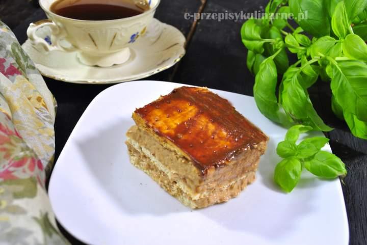 Ciasto krówka na krakersach