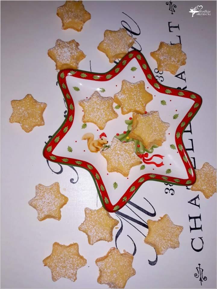 Kokosowe gwiazdeczki (ciasteczka)