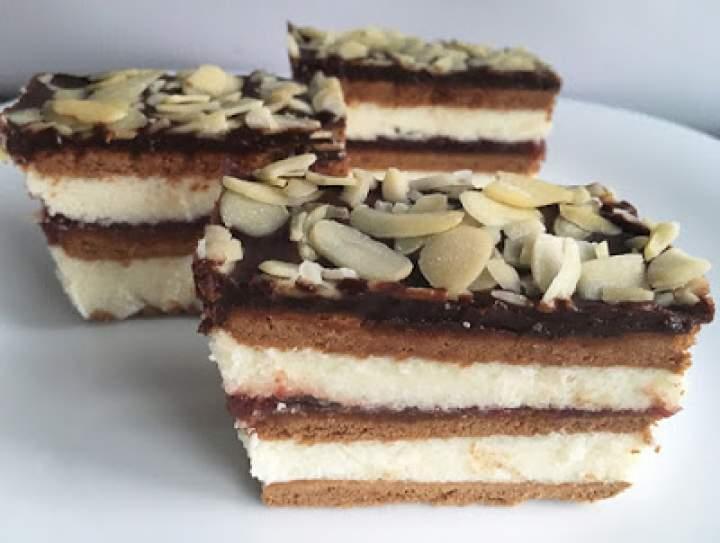 Ciasto przekładaniec bez pieczenia