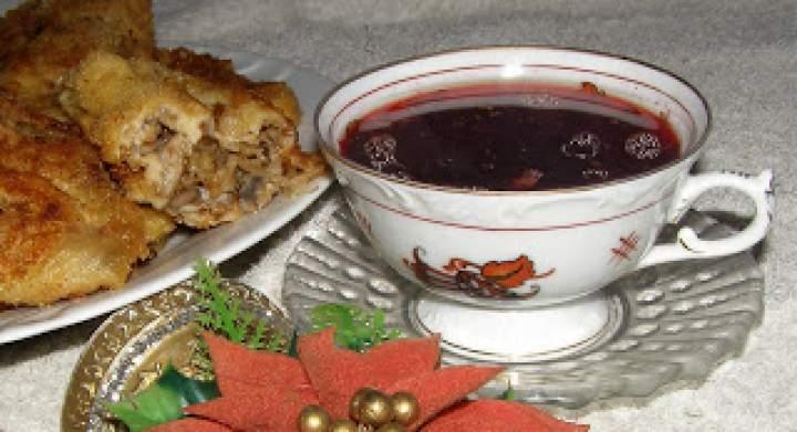 z wafli krokiety z barszczykiem…