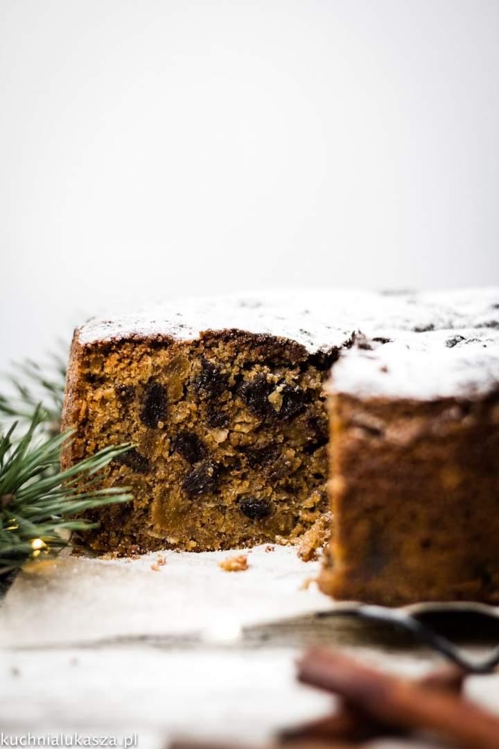 Christmas cake – Angielskie ciasto świąteczne