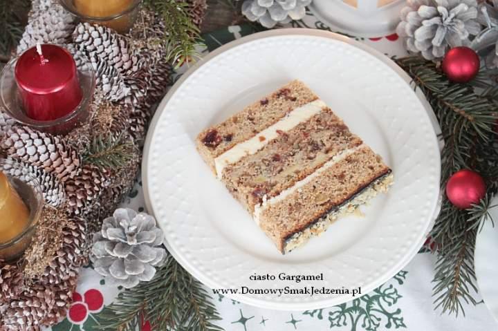 ciasto piernikowe Gargamel wg s. Anastazji