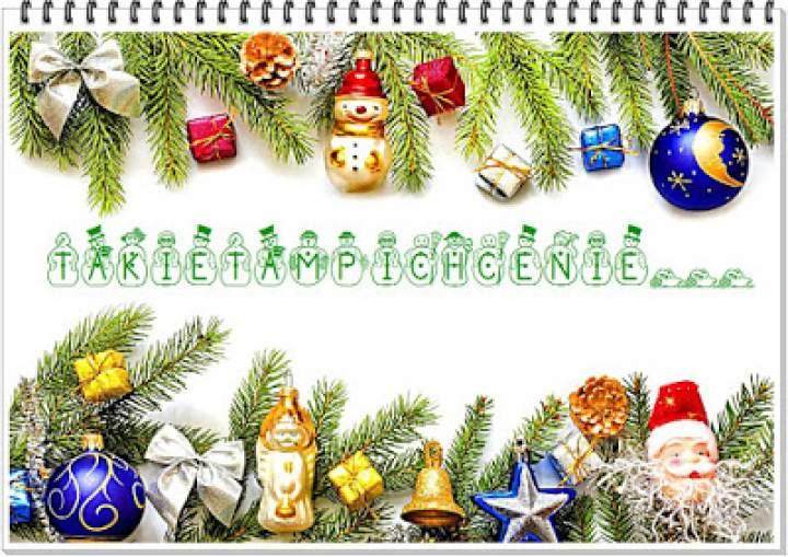 Życzenia na Boże Narodzenie dla fanów takietampichcenie…