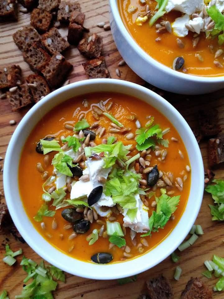 Krem z marchewki / Cream of Carrot Soup
