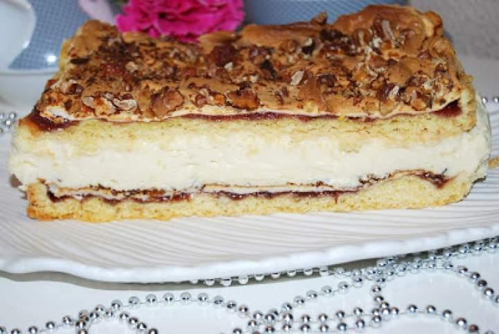 Pani Walewska (Pychotka) -ciasto