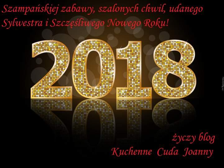 Szczęśliwego Nowego Roku 2018 !!!