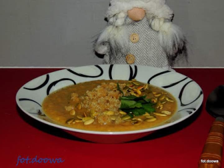 Zupa czosnkowo – chrzanowa