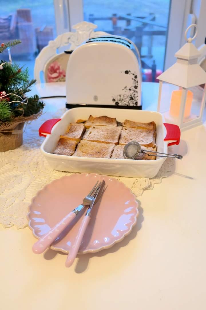 Pudding chlebowy – idealny na śniadanie!