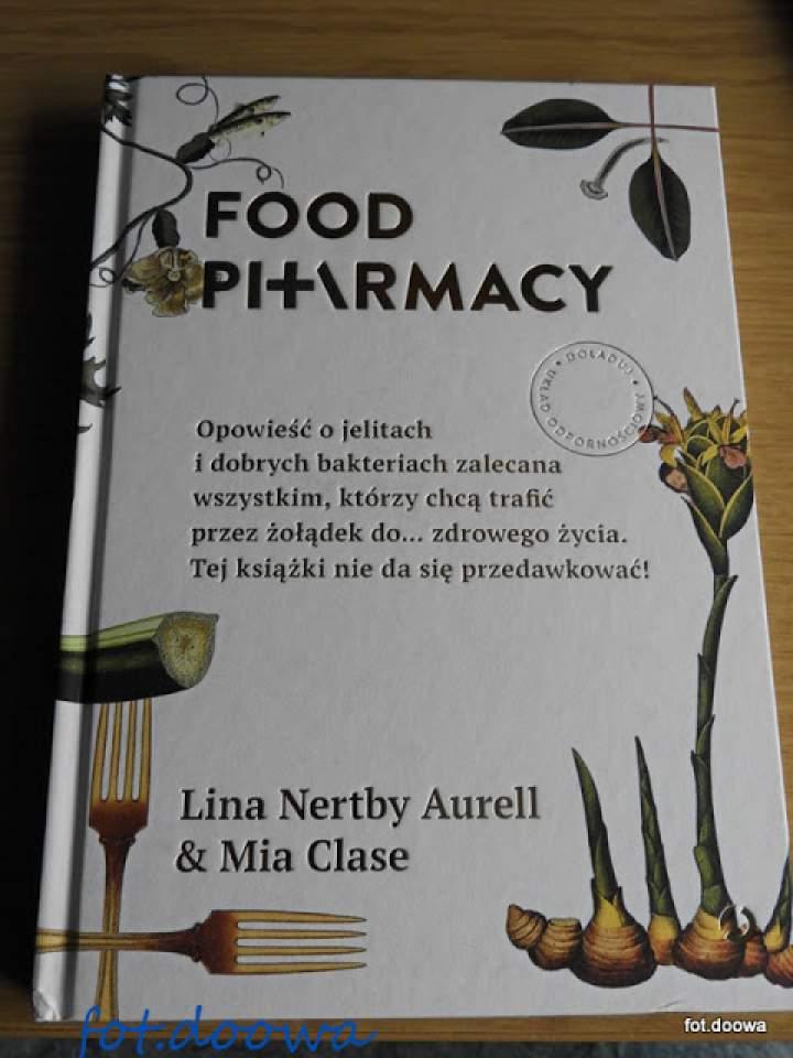 """""""Food Pharmacy"""" Lina Nertby Aurell & Mia Clase – recenzja książki"""