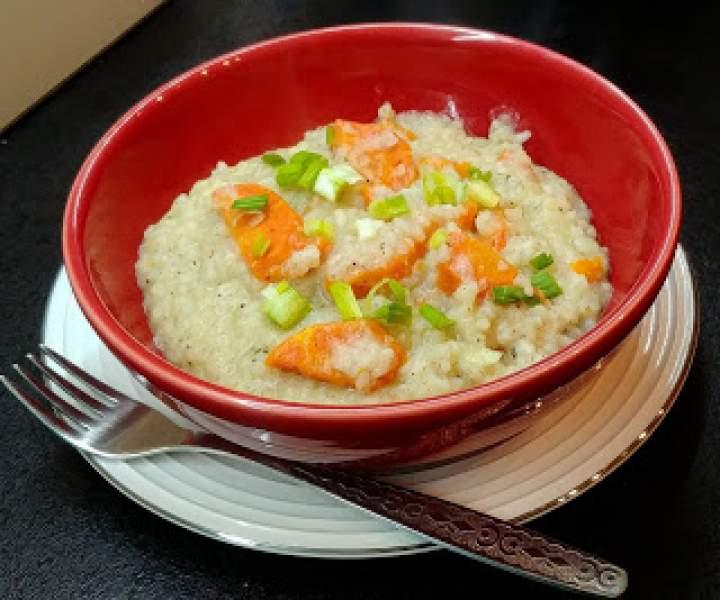 Potrawka z ryżu z marchewką, czyli risotto dla niecierpliwych