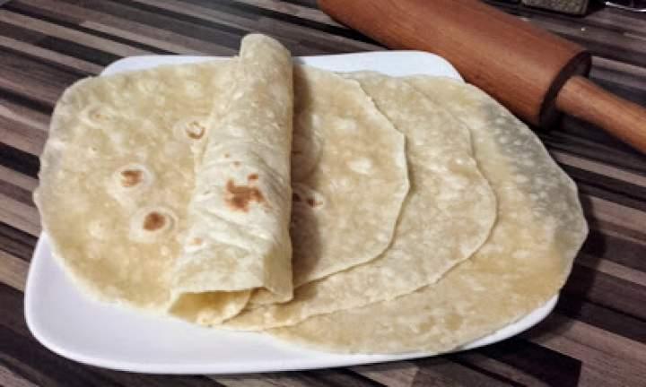 Domowe placki tortilla.