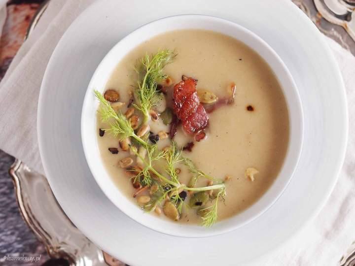 Zupa krem ze skorzonery / Creamy salsify soup