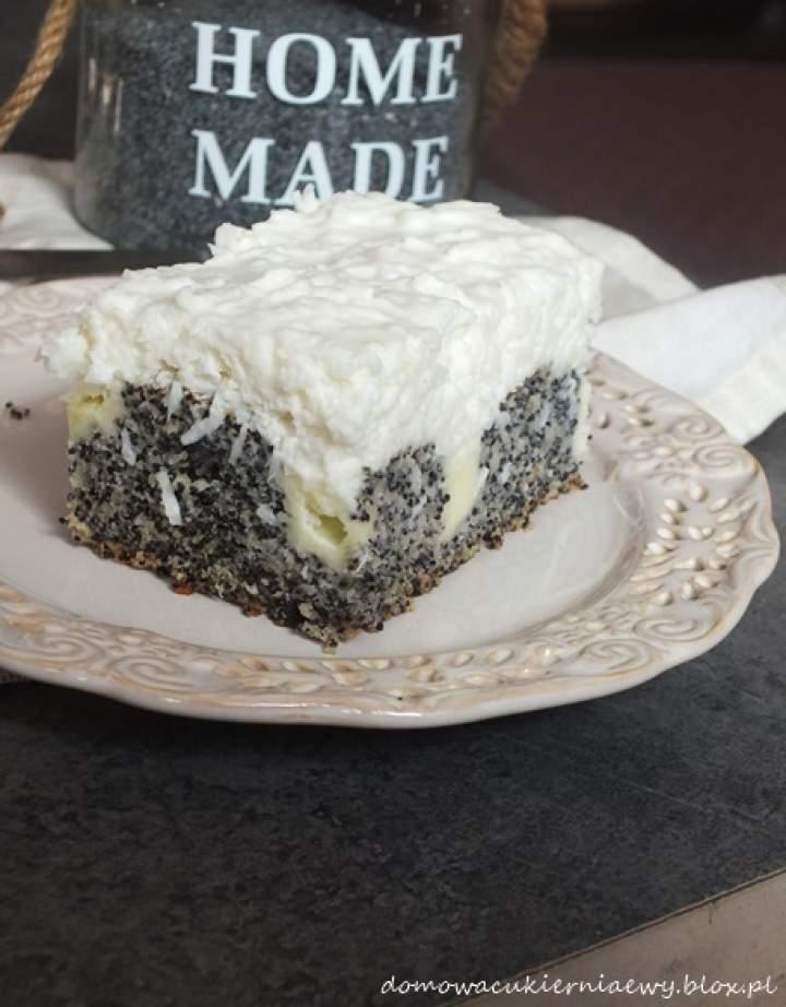 Ciasto Makowe fale