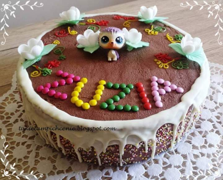 Tort Jamajka -tort motyl