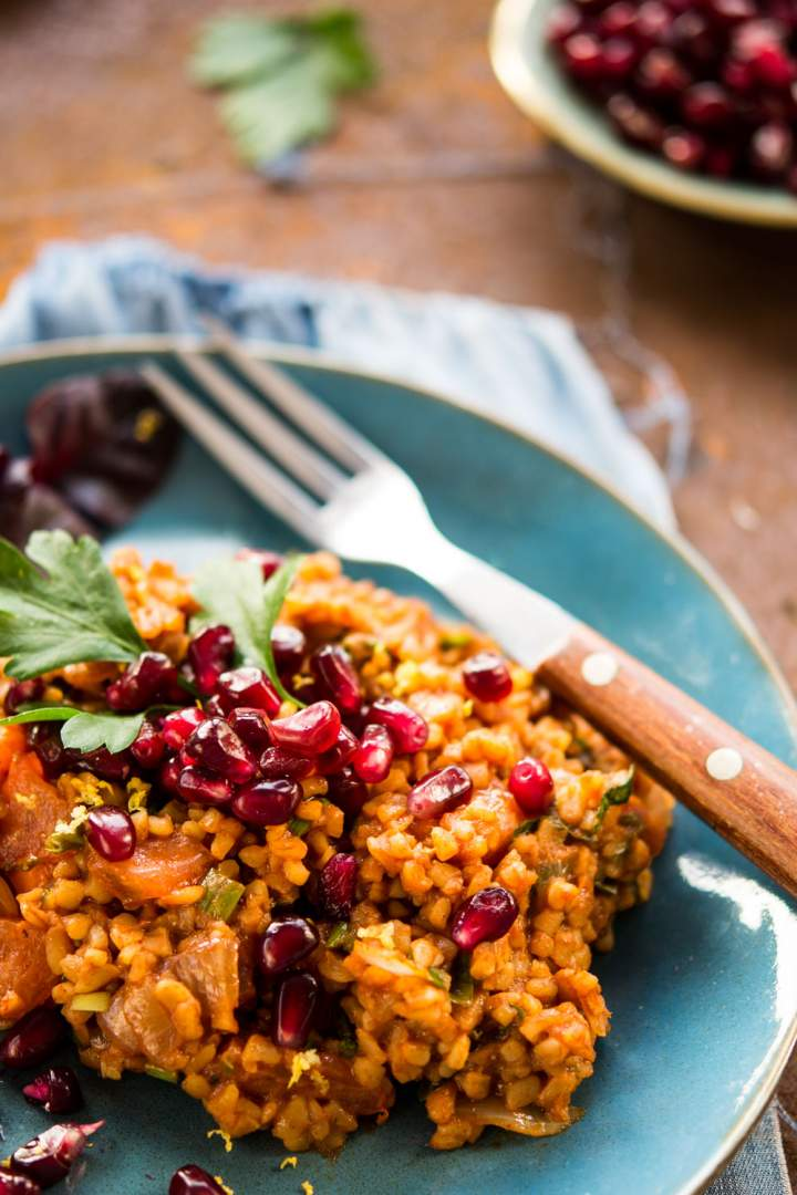 Ormiańska sałatka z kaszą bulgur – Eetch