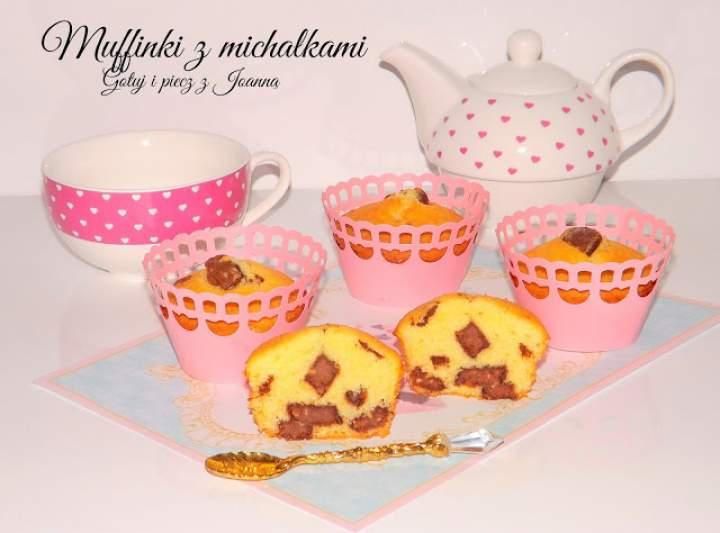 Muffinki z michałkami i kardamonem