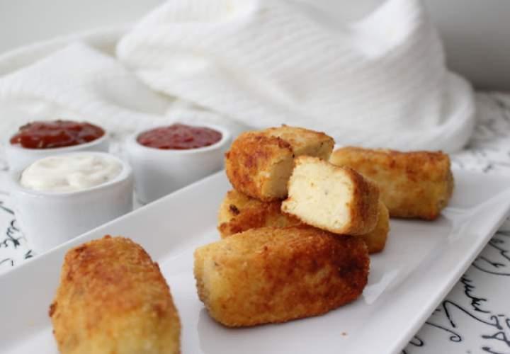 Ziemniaczane krokieciki z serem