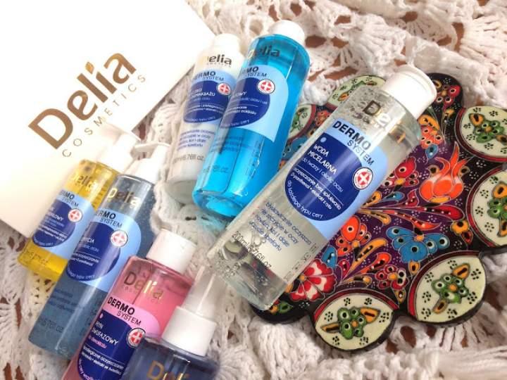 Dermo System – nowe kosmetyki do czyszczenia i demakijażu twarzy marki Delia Cosmetics