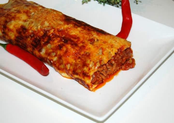 Rolada ziemniaczana z mięsem