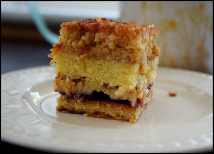 """Ciasto """"Kokosowa Krówka"""""""