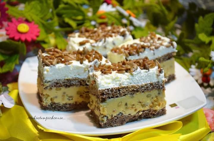 Słonecznikowiec – ciasto ze słonecznikiem