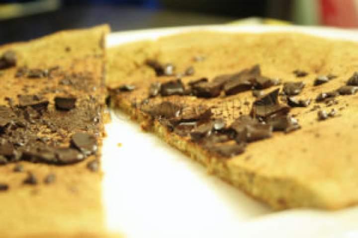 Omlet z płatkami owsianymi i czekoladą – idealny dla dzieci!