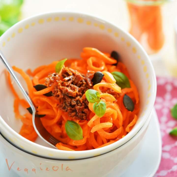 Jak zmienić przyzwyczajenia żywieniowe i spaghetti z marchwi