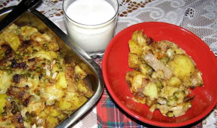 ziemniaki z piekarnika…