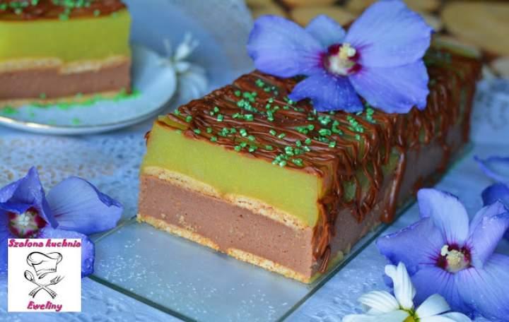 Ciasto Stefania z musem gruszkowym