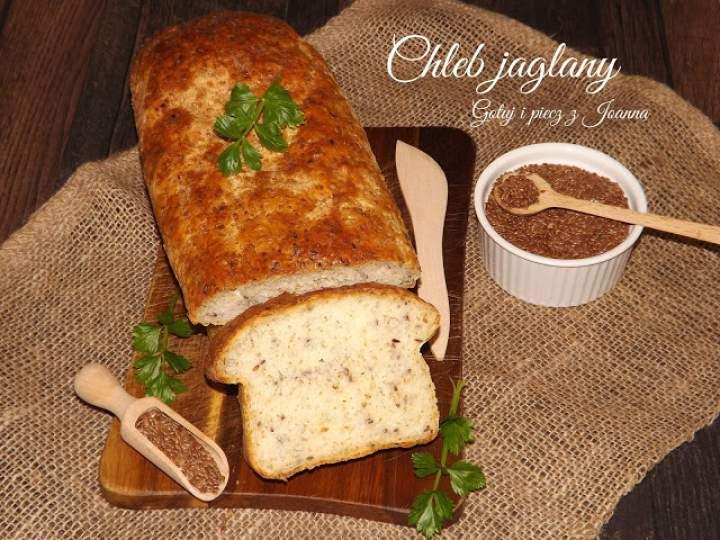 Chleb jaglany z siemieniem lnianym