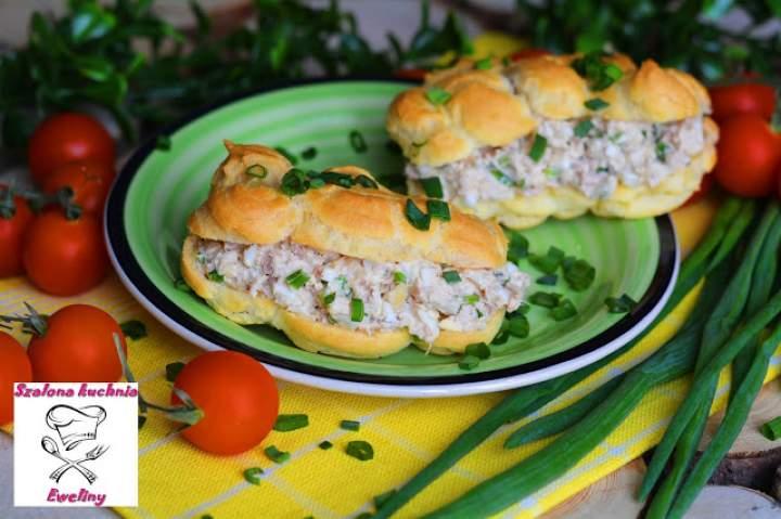 Eklerki z pastą jajeczno – tuńczykową
