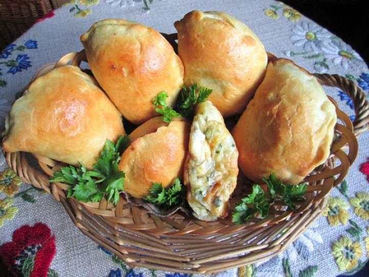 Pieczone pierogi z serem
