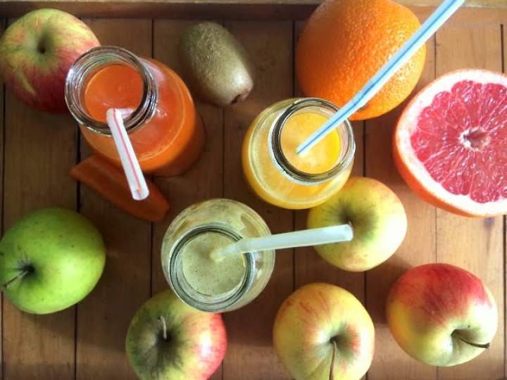 Domowe soki owocowe i warzywne