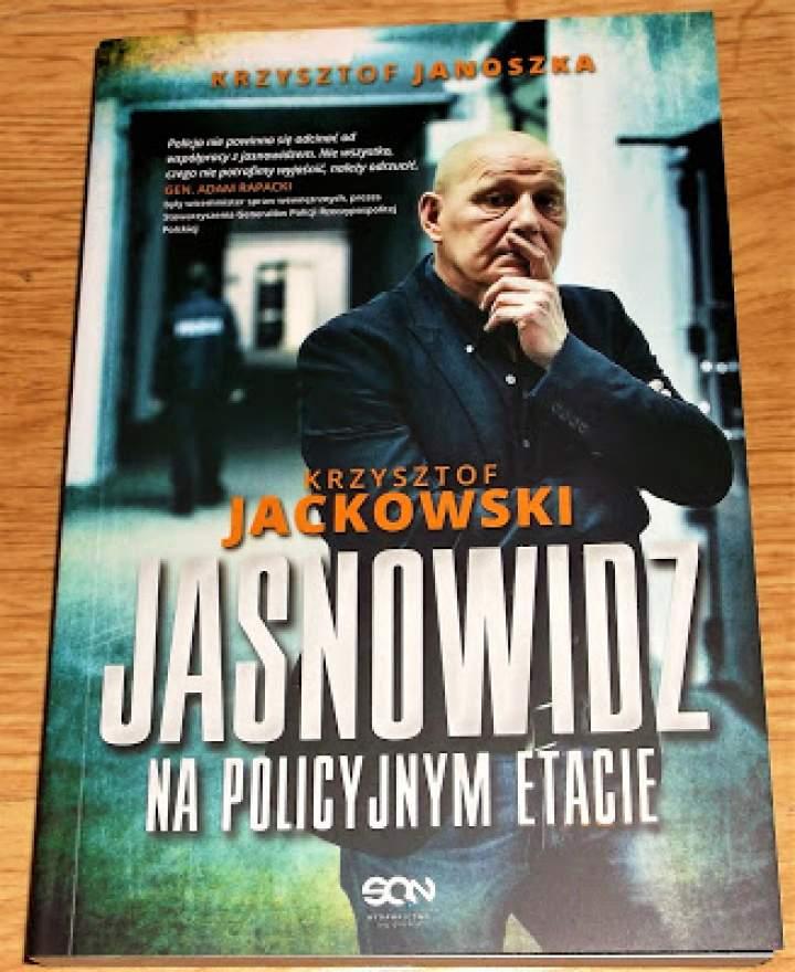 Recenzja książki: Jasnowidz na policyjnym etacie