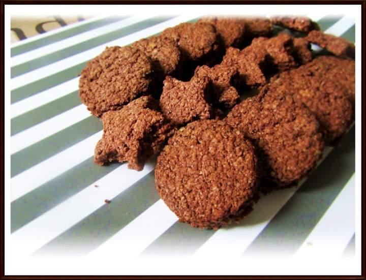Kakaowe Ciastka z Kleiku Ryżowego