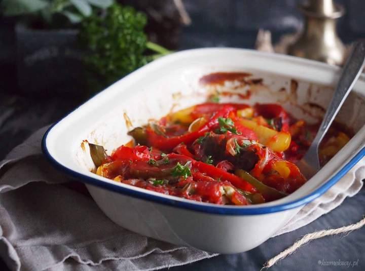 Łatwa wołowina zapiekana z papryką / Easy beef and pepper bake