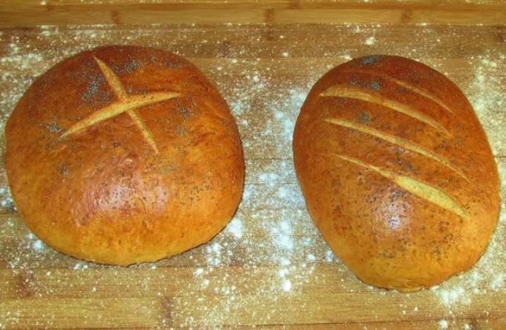Chleb na suchych drożdżach