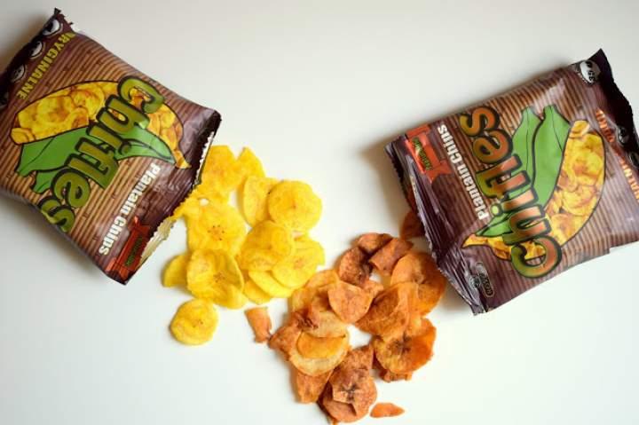 Naturalne chipsy z plantana :)