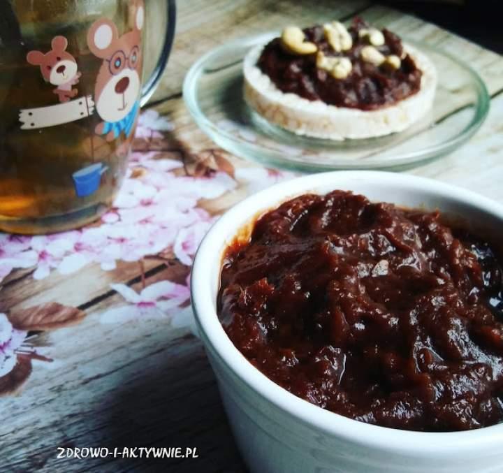 Krem czekoladowy z daktyli