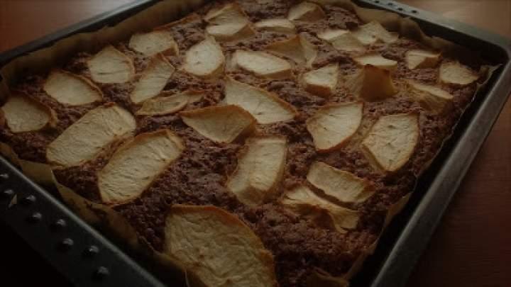 Ciasto bananowe z jabłkami bez tłuszczu