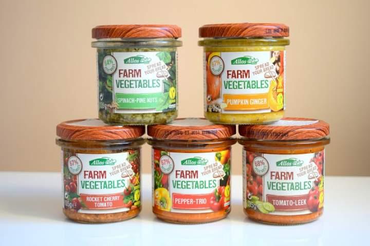 Pasty warzywne Allos – wegańskie, bezglutenowe, ekologiczne :)