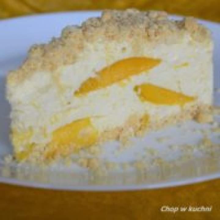 Chōdny syrnik ze mango (Sernik na zimno z mango)