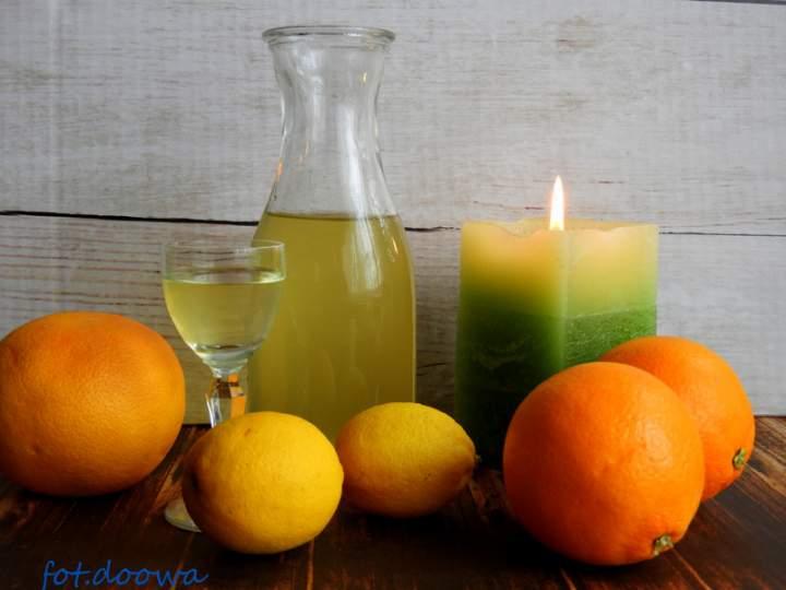 Nalewka 4 cytrusy: cytrynowo – grejpfrutowo – pomarańczowo – limonkowa