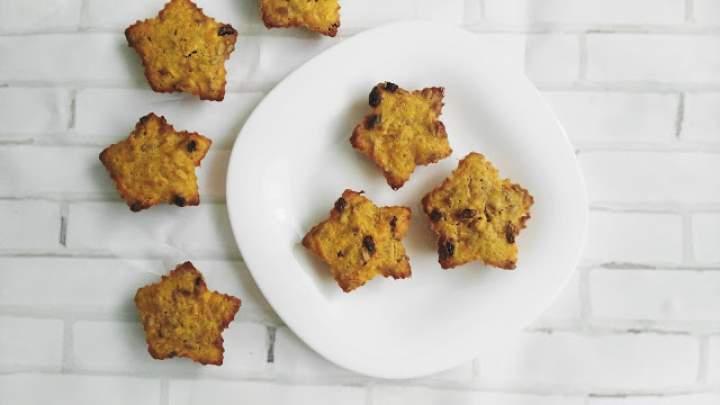 47. Marchewkowe muffiny z rodzynkami